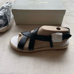 NWT Marc Fisher Tallia Espadrille Sandals